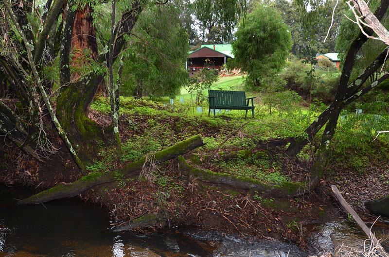 Ferguson River View to The Lodge